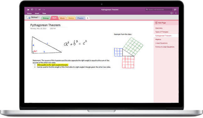 Office 2016 OneNote for Mac