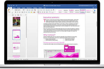 Office 2016 Word for Mac
