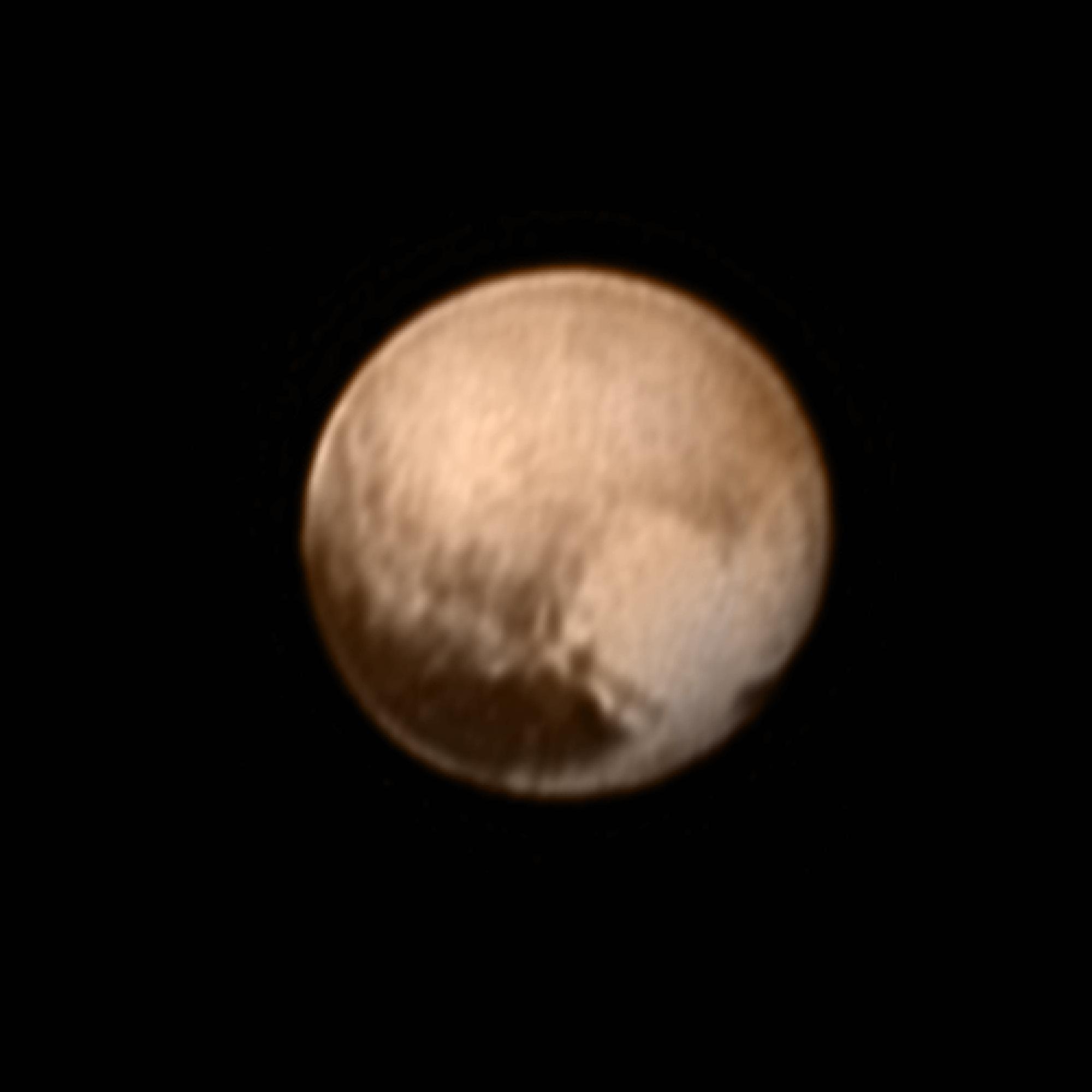 pluto planet size - photo #35