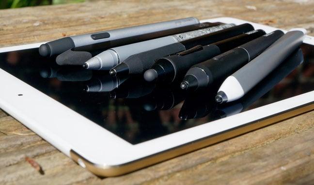 iPad styluses