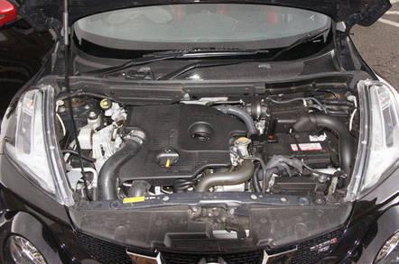 Nissan Juke has a 1.6 Turbo