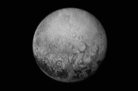Pluto dark spots. Image credit: NASA