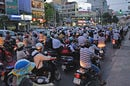"Traffic in Saigon. Pic: ""M M"""