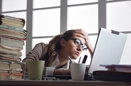Frustation, image via Shutterstock