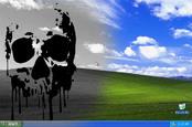 Windows XP desktop doom