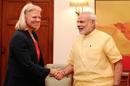 Ginni Rometty calling on the Prime Minister, Shri Narendra Modi, i