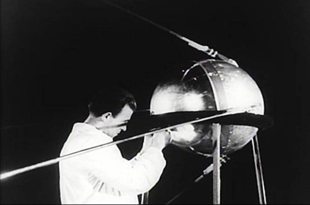 Did Speeding American Manhole Cover Beat Sputnik Into