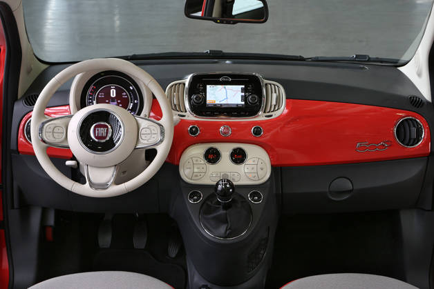 Inside the Fiat 500 Pop Star