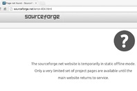 Sourceforge 404 message