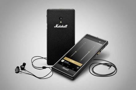 Marshall's London smartphone