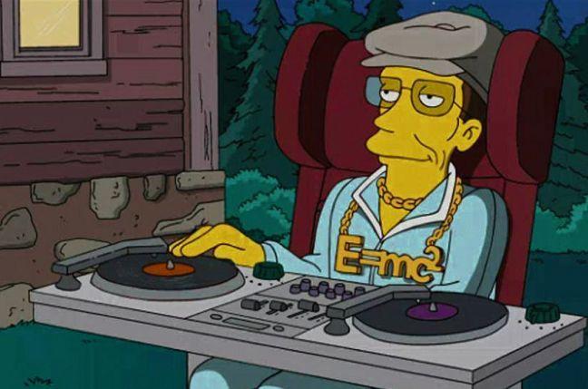 stephen hawking simpsons DJ meme imgur reddit AMA