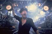 Engineer aboard Das Boot U-96 responds to telegraphs