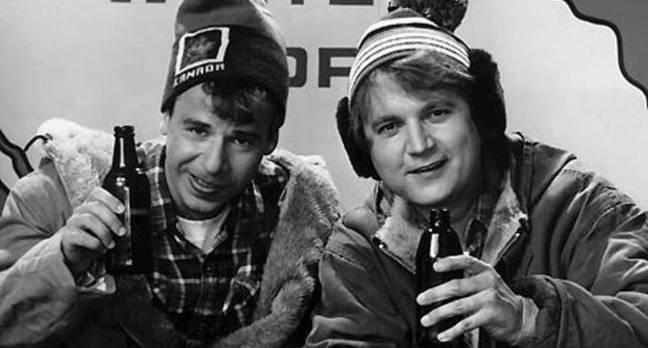 Bob and Doug McKenzie of Canada