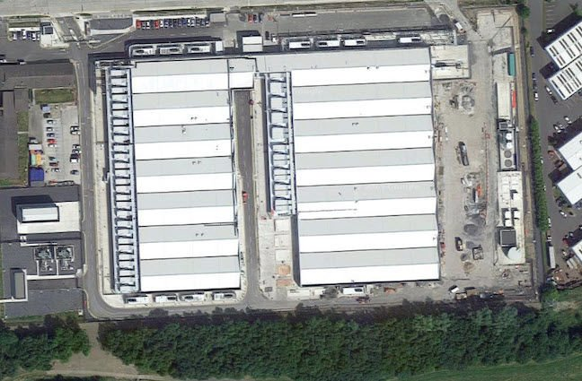 Amazon Dublin facility one, Google Maps screenshot