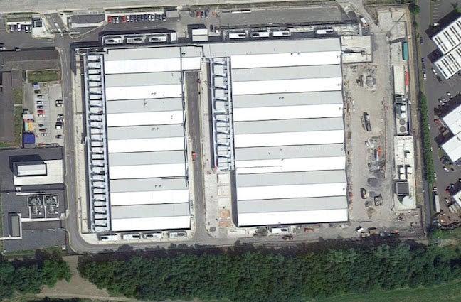 Amazon Dublin facility one, Google Maps screenshot