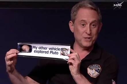 Pluto bumper sticker