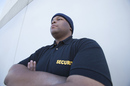 Security guard, picture via Shutterstock