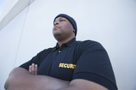 Security guard, picture via Shutterstock