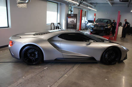 Ford's GT only has a V6