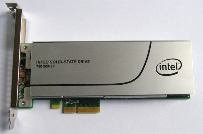 Intel Ssd 750 1.2tb Intel's Ssd 750 Draws Upon Its