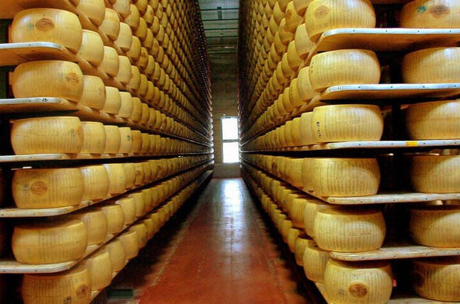 Grand Fromages at Reggio Parmagiano