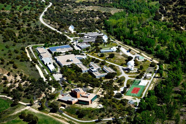 An aerial view of ESAC. Pic: ESAC