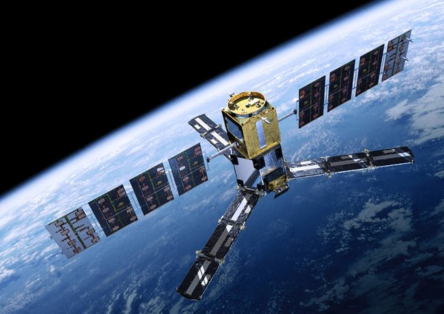 Artist's impression of the SMOS satellite. Pic: ESA/AOES Medialab