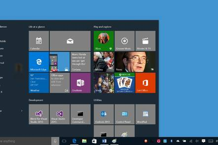 Windows 10 with its revived Start menu
