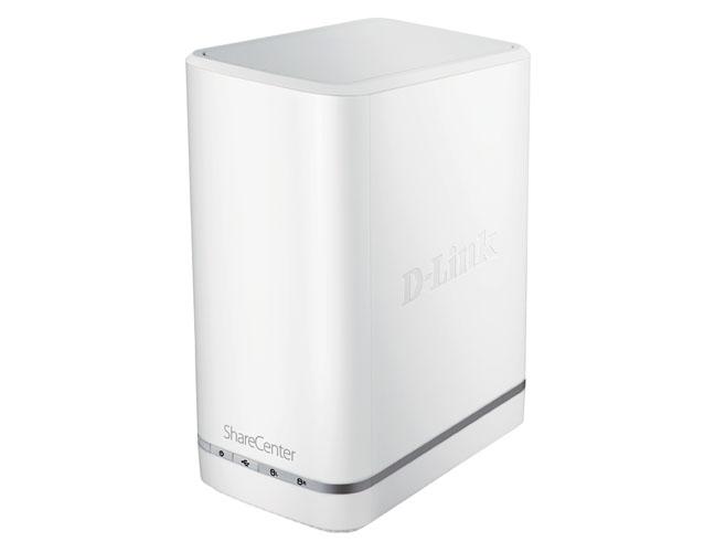 D-Link DNS-327L ShareCenter+ dual-bay NAS box