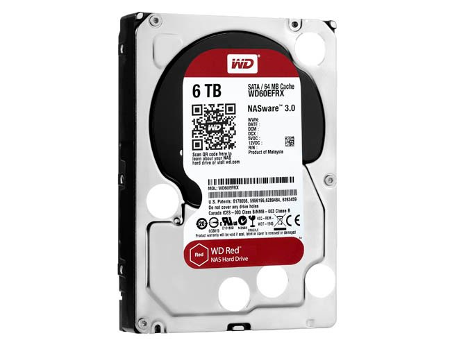 WD Red HDD with Nasware 3.0