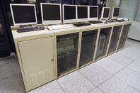 Old Sun computers in the PSA