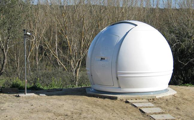 ESAC's solar telescope dome. Pic: ESA