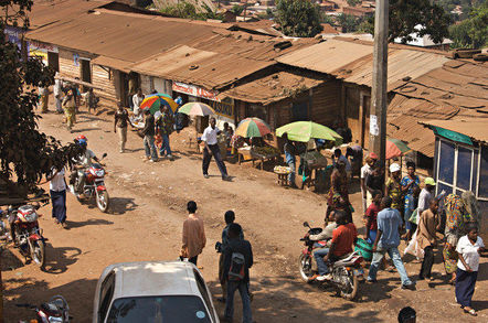 A gold buying house in Africa. Pic: Sasha Lezhnev