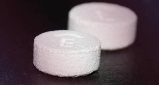 Spritam 3D printed pills