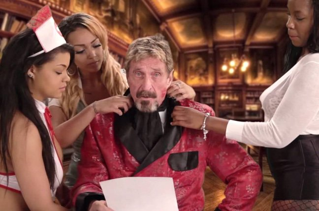 Intel falls after settling with John McAfee