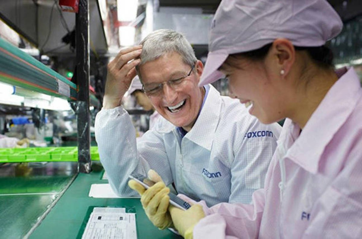 apple and foxconn relationship