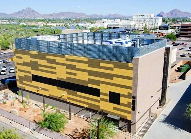 exterior of ebay phoenix data center