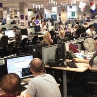 RSA call center, photo: RSA