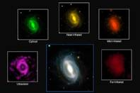 GAMA image of galaxies