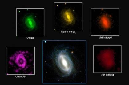 GAMA image of galaxies