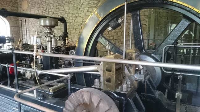 New Lanark machinery, photo: Bill_Ray