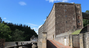 New Lanark photo via Shutterstock