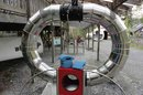 CAT_wind tunnel for testing turbine shapes photo SA Mathieson