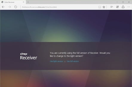 Citrix warns that Windows 10's Edge browser borks Receiver • The