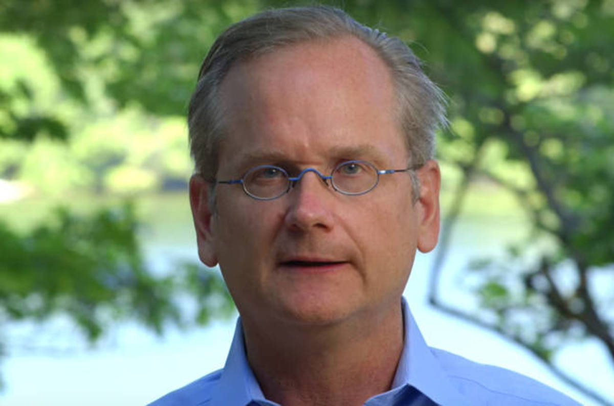 A summary of Lawrence Lessig's Chair Lecture at Harvard Law School