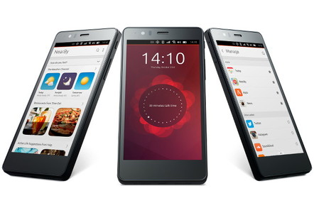 Smartphones running Ubuntu