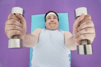 Weightlifting, photo via Shutterstock