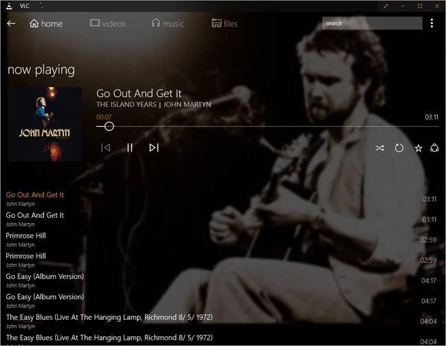 VLC on Windows 10