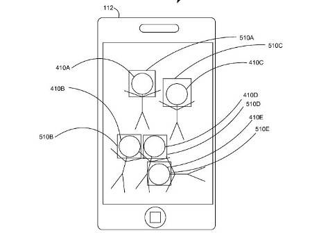 Face-tagging in Apple's patent application